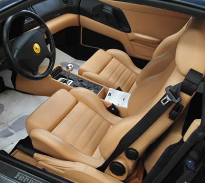 F355 Berlinetta Blu Swaters/Beige